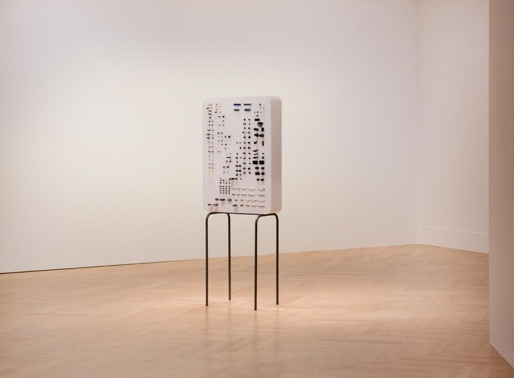 Adapters, 2018 Object, 180cm x 105cm x 40cm  Image courtesy of Stefani Glauber