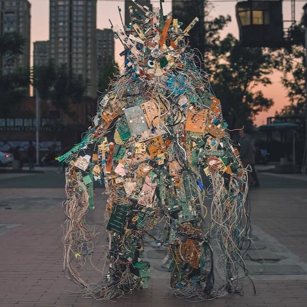 Core Dump (2018-2019) by Francois Knoetze
